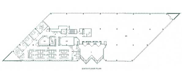 6th floor Furniture Plan